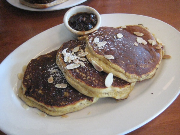 Hugo's Orange Cranberry Pancakes