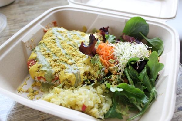 Leaf Cuisine Mushroom Rawsagna