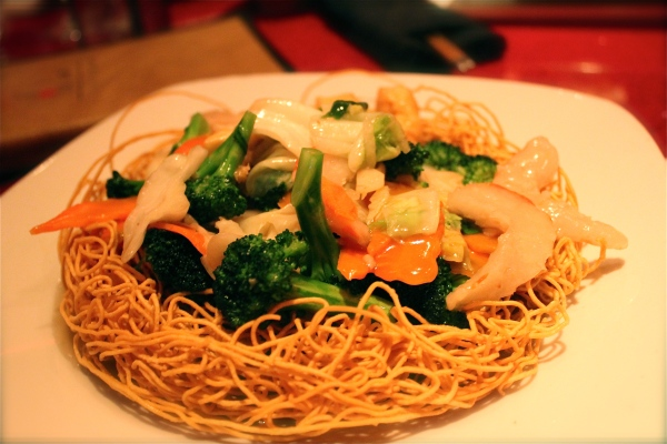 Au Lac Stir Fried Seafood Noodles