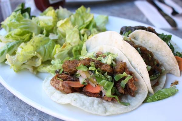 Hugo's Oyster Mushroom Tacos
