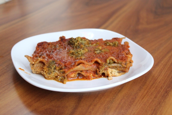 Whole Foods Vegan Lasagna