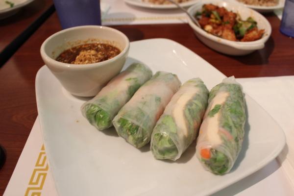 Thuyen Vien Steamed Jicama Rolls