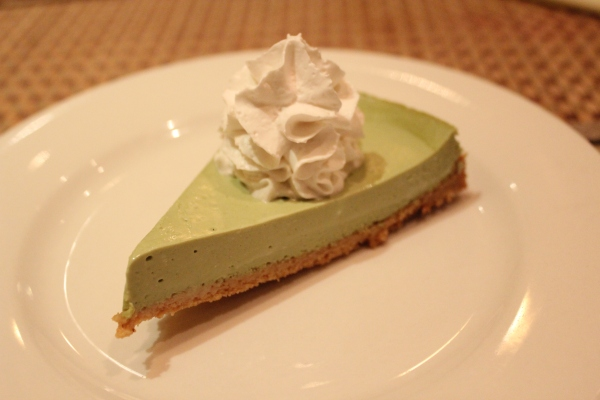 Green Earth Green Tea Cheesecake