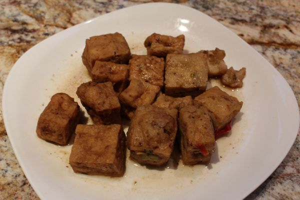 Gobble Green Caramelized Tofu and Vegetables