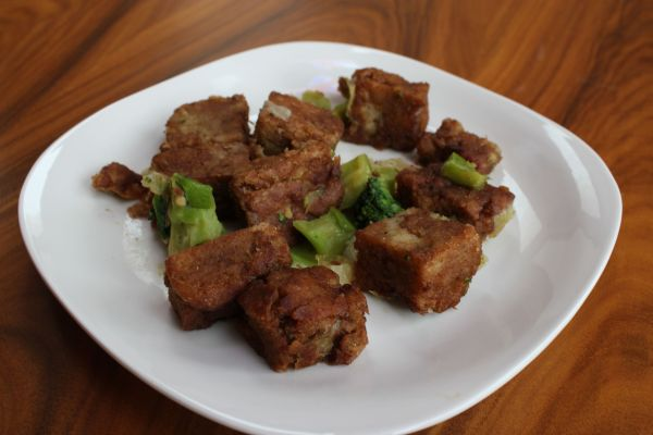 Gobble Green Szechuan Seitan and Broccoli