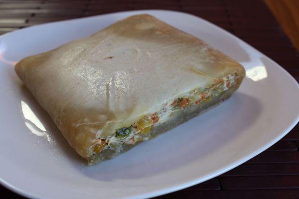 Gobble Green Baked Vegetable Sandwich
