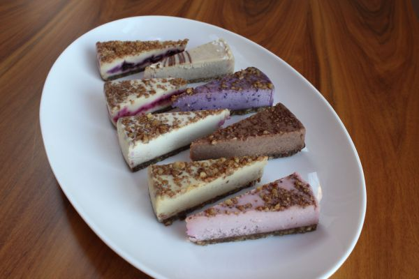 Earth Cafe Raw Vegan Cheesecakes
