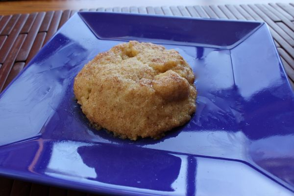 Gobble Green Snickerdoodle Cookie