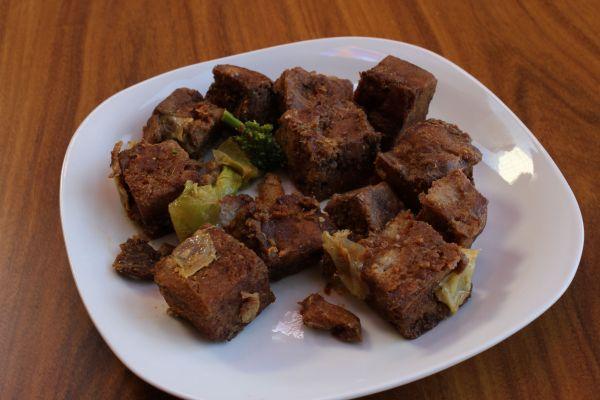 Gobble Green Szechuan Seitan and Broccoli