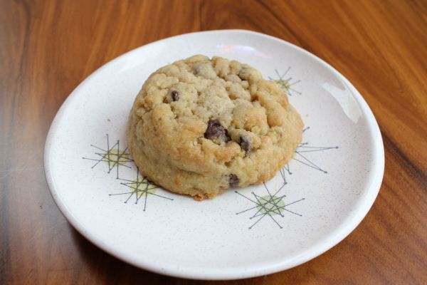 Gobble Green Chocolate Chip Cookie