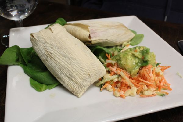118 Degree Sweet Corn Tamales