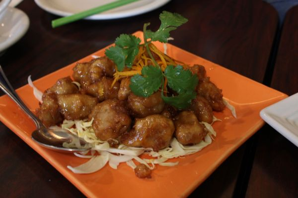 Bulan Thai Orange Chicken