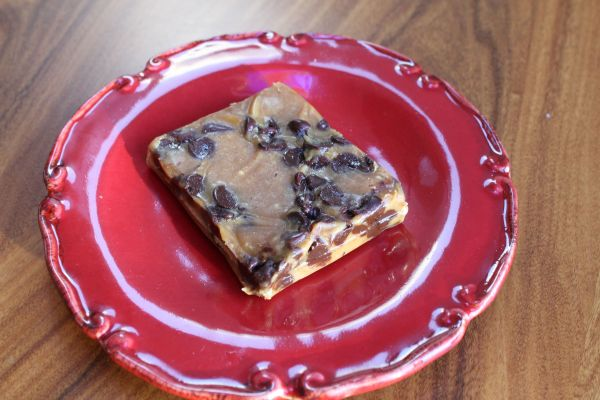 Gobble Green Peanut Butter Chocolate Chip Bar