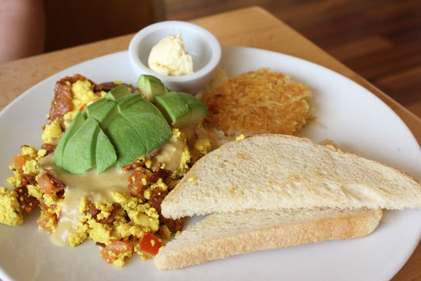 Real Food Daily Tofu Scramble