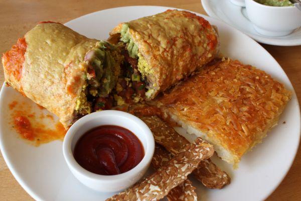Real Food Daily Breakfast Burrito