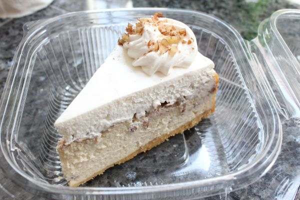 Real Food Daily Caramel Pecan Cheesecake