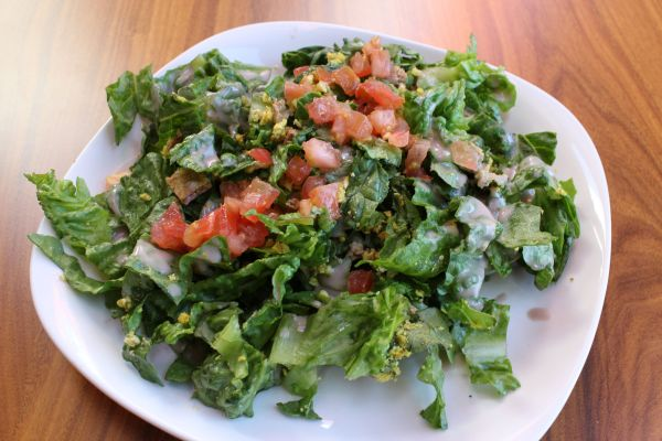 Leaf Cuisine Caesar Salad