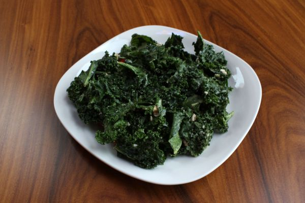 Earthly Juices Kale Salad