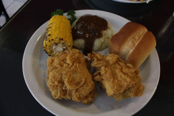 Doomie's Fried Chicken Dinner