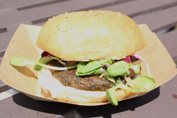 Green Truck Vegan Burger