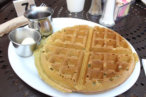 Freesoulcaffe Green Tea Waffles