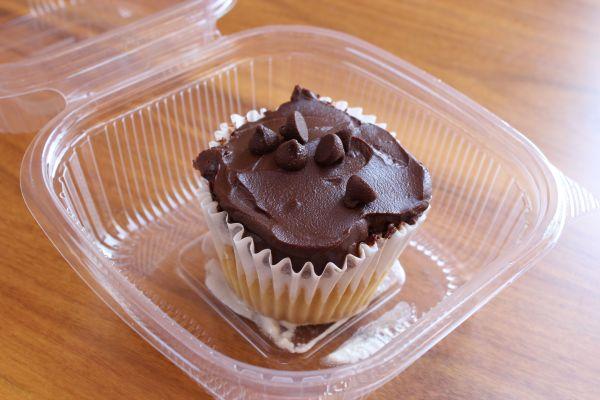 Evolution Fast Food Boston Creme Cupcake