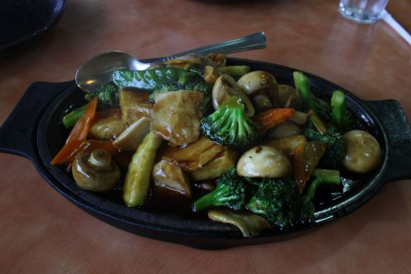 Happy Family Sizzling Plate
