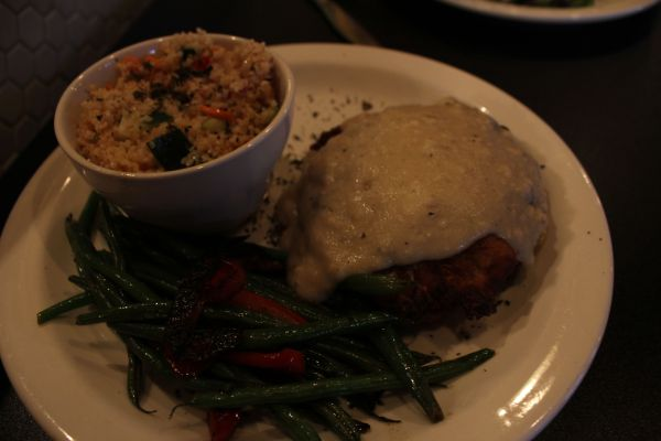 Picasso on Paseo Chicken Fried Portobello