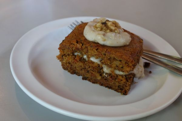 Red Cup Coffee House Carrot Cake