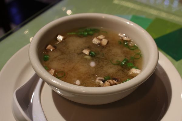 Thai Vegan Miso Soup
