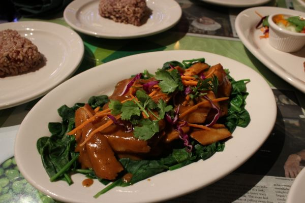 Thai Vegan Praram's Plate