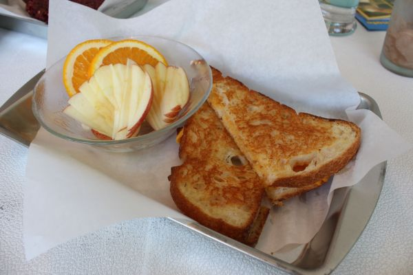 Mint Tulip Grilled Cheese