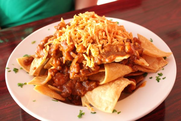 Chili Addiction Chili Cheese Nachos