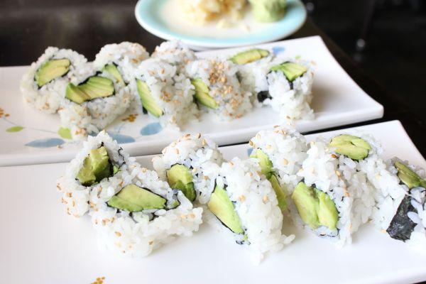 Sushi Laguna Avocado Rolls