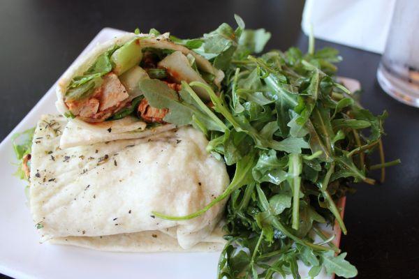 Evo Kitchen BBQ Chicken Wrap