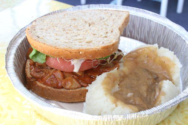 Jyoti Bihanga Mock Duck Sandwich