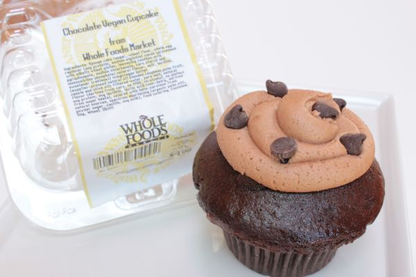 Chocolate Cupcake form Whole Foods