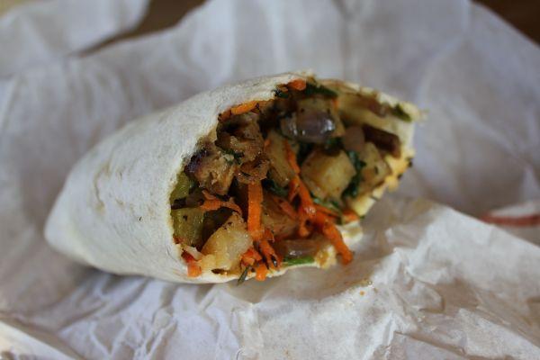 Stellar Brew Breakfast Burrito