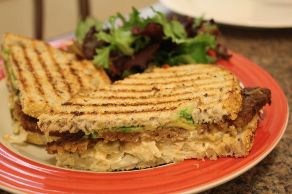 Sugar Plum Vegan Reuben