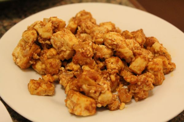 Sugar Plum Vegan BBQ Tofu