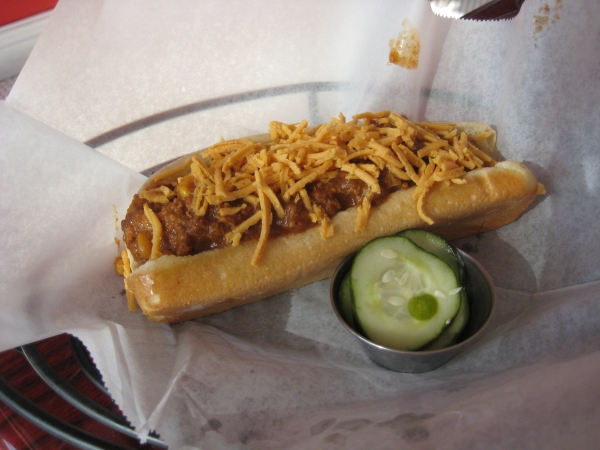 Chili Addiction Chili Cheese Dog