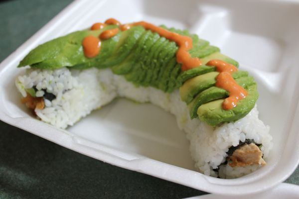 Loving Hut Dragon Roll
