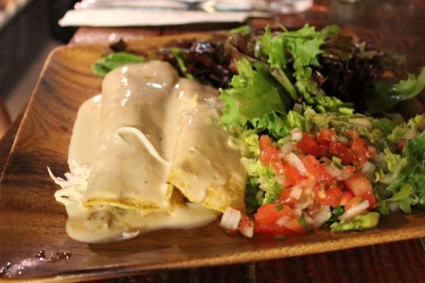 Golden Mean Enchiladas
