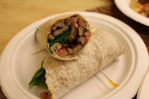 Oasis Pepper Steak Wrap