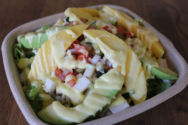 Healthy Junk Mango Salad