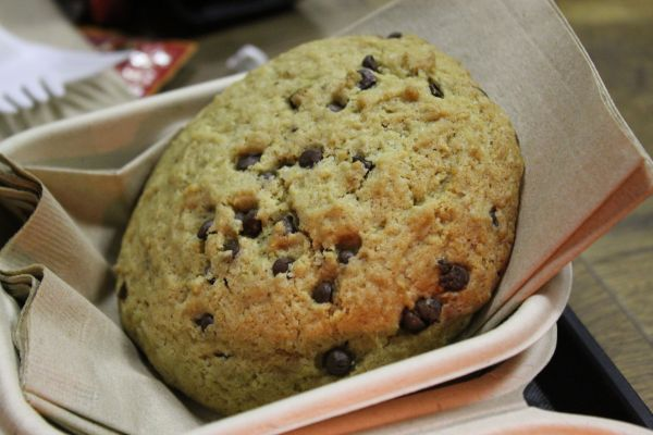 Healthy Junk Chocolate Chip Cookie