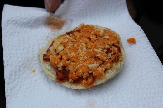 Rachels Cosmic Cuisine Pizza Bagel
