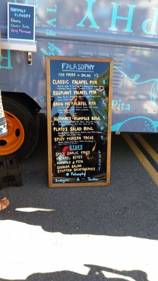 Falasophy Menu