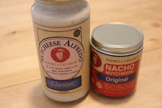 Parmela Creamery Alfredo and Nacho Sauce