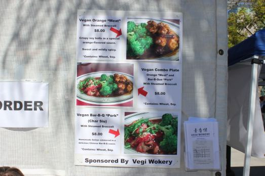 Vegi Wokery Menu